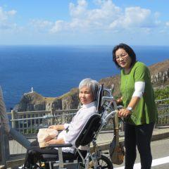 難病の方と長崎の五島にいったときの写真です