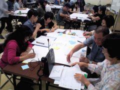 当協会7月例会「防災勉強会」(60名参加)