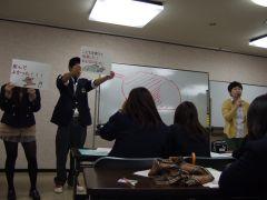 2012年松原高校2年生の児童虐待防止についての授業に参加して