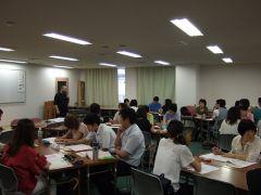 2013年度オープン講座(実践編)でのグループワーク