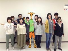 日本マルファン協会のキャラクター「マーキー」と一緒にキックオフ!