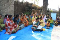 女性たちの自立支援のための集会