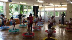 保育所でのトランポロビックス教室