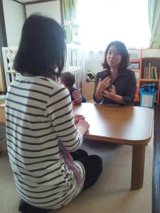 地域の女性に寄り添い、キャリア相談、保活相談、子育て相談を行っています