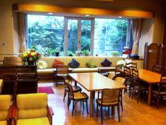 カフェの全体写真