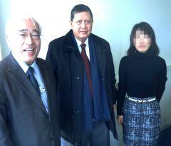 前北朝鮮人権問題に関する国連特別報告者ダルスマン氏に対して日本の脱北者の状況を説明