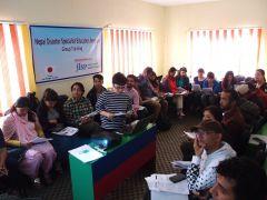ネパール災害専門家教育プログラム:中島博士による神経心理学の講義をカトマンズで開催。