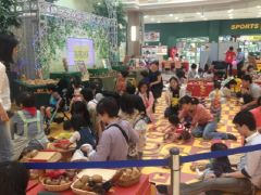 木育推進、東京おもちゃ美術館と連携した木のおもちゃ広場