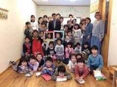 モモの木学校 クリスマス会の全体写真