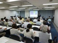 毎年開催している「地球環境市民講座」の様子