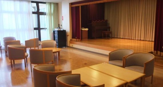 ラウンジはイベントに使ったり、地域の皆さんの憩いの場にも利用いただけるかもしれません。